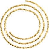 Wheat Chain Diamond Cut 2.75mm