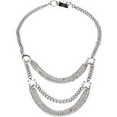 Stainless Steel Multi Strand Necklace