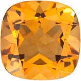 Genuine Citrine - Antique Square Fantasy-North Star
