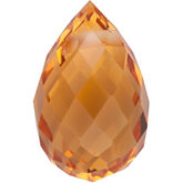Briolette Genuine Citrine