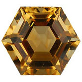 Hexagon Genuine Citrine