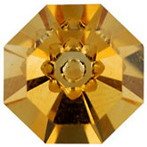 Octagon Fantasy Genuine Citrine
