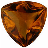 Trillion Genuine Cabochon Citrine