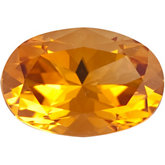 Oval Genuine Citrine