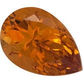 Pear SWAROVSKI GEMS™ Genuine Golden Citrine