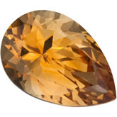 Pear SWAROVSKI GEMS™ Genuine Saffron Citrine