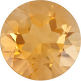Round Genuine Citrine