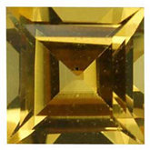 Square Imitation Citrine