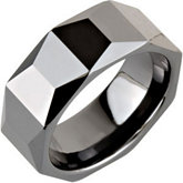 8.0mm Ceramic Couture™ Faceted Band