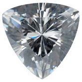 Trillion Lab Created White Cubic Zirconia