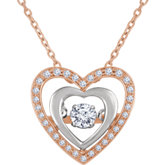 Mystara Diamonds™ Heart Necklace