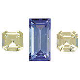 Genuine Tanzanite & Yellow Sapphire Layout