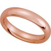 Comfort Fit Wedding Band - Size 7, 2mm - 8mm