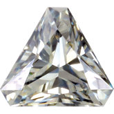 Triangle Lab Created Moissanite