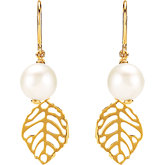 Freshwater Cultured Dangle Pearl Earrings