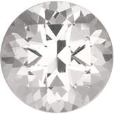 White Topaz Genuine Machine-Cut