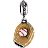 Kera® Baseball & Glove Dangle