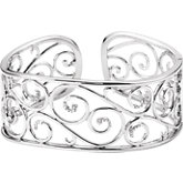 1/4 ct tw Diamond Cuff Bracelet