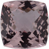 Antique Square Genuine Morganite (Black Box)