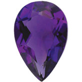Pear Imitation Amethyst