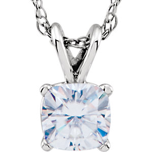 Aharles & Aolvard Moissanite® Necklace