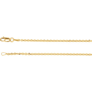 Solid Cable Diamond-Cut Chain 1.75mm
