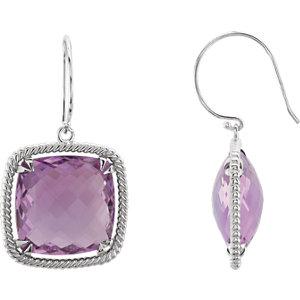 Gemstone Rope Design Earrings or Mounting