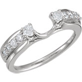 1/2 ct tw Diamond Ring Wrap