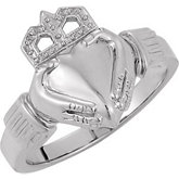 5.10mm Ladies Claddagh Ring