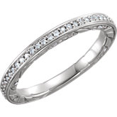 Diamond Anniversary Band or Mounting