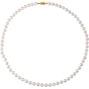 Akoya Cultured Pearl Strand