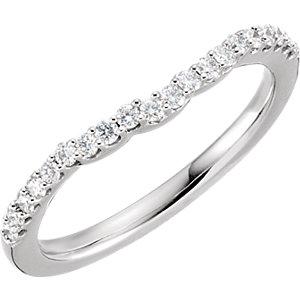 Diamond 3-Stone Halo-Styled Engagement Ring, Semi-Mount or Band