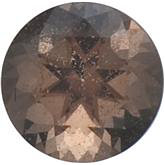 Round SWAROVSKI GEMS™ Genuine Oak Smoky Quartz