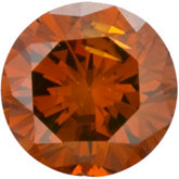 Round - Burnt Orange Enhanced