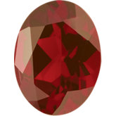 Oval Genuine Mozambique Garnet