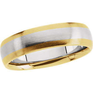 Two-Tone 5.5mm Design Band