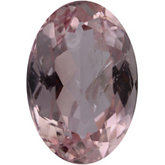 Oval Genuine Pink Topaz (Black Box)