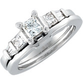 1 1/8 ct tw Diamond Engagement Ring