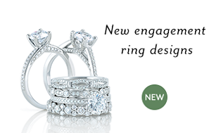 New engagement ring designs