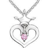Disney® Heart Crown Necklace