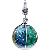 Enamel Beach Ball Charm