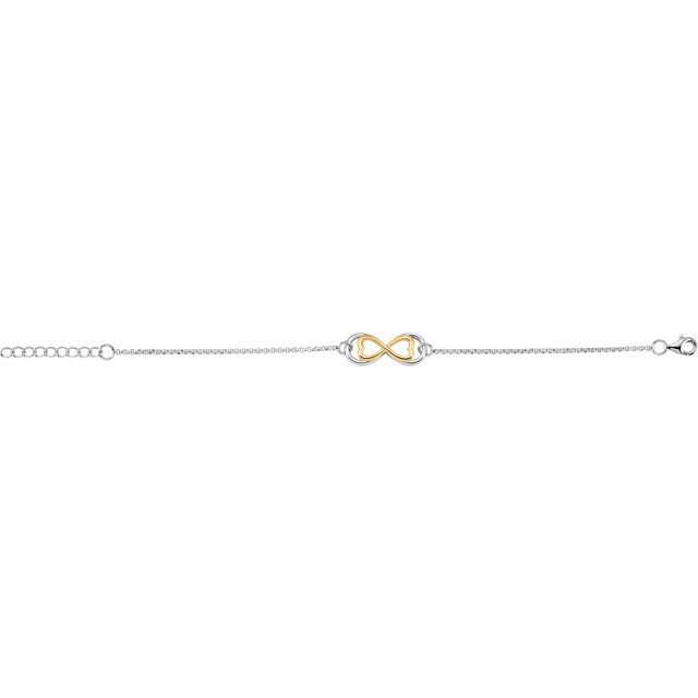 14K Yellow Gold-Plated Sterling Silver  10x21mm 7.25