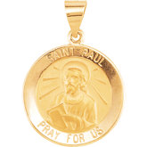 Hollow Round St. Paul Medal