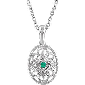 Gemstone Design Necklace