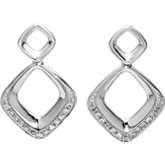 1/10 ct tw Diamond Earrings