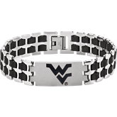 West Virginia Mountaineers Logo Bracelet