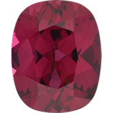 Antique Cushion Genuine Rhodolite Garnet