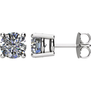 Platinum   ATW Diamond Earrings
