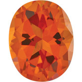 Oval SWAROVSKI GEMSTONES™ Genuine Poppy Topaz