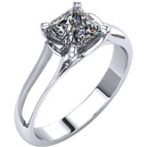 4-Prong Trellis Solitaire Engagement Ring